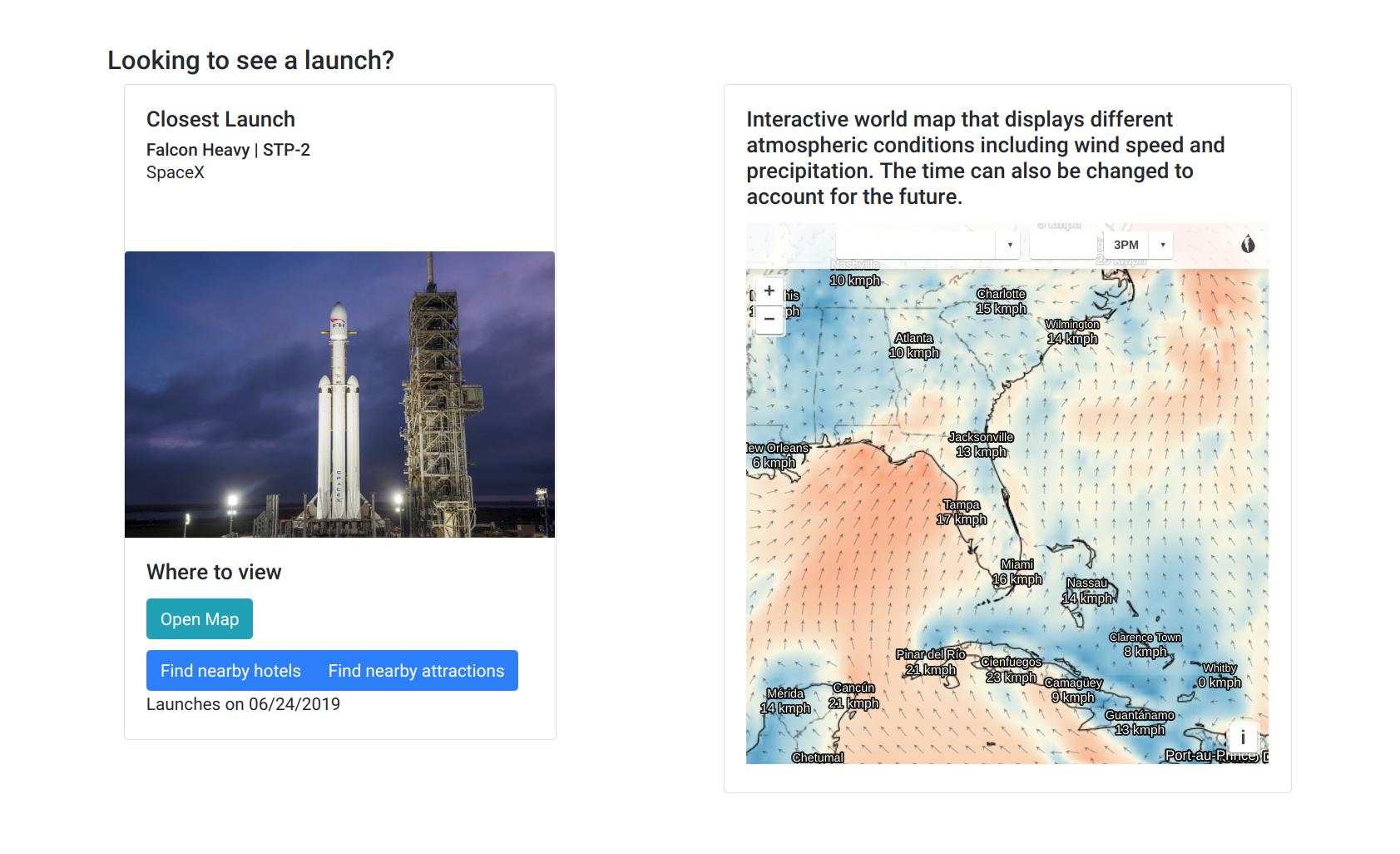 Rocket Launch App